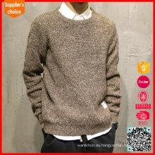 El suéter 100% de la cachemira de los nuevos hombres de la manga larga de los suéteres de la manera