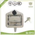 Steel Panel Lock Flush Mount T Handle Latch