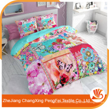 Cheap price buy embroidery bed sheet fabric from china
