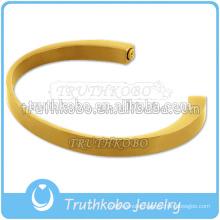 Newest Bracelet Gold Plated Cremation Urn Keepsake Jewelry Openning Crescent Bracelet For Ash