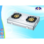 Stainless steel 2 burners table top gas stove