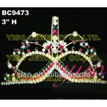 mask rhinestone crowns