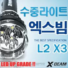 Haute qualité 3000 Lumen Magnetic Scuba Diving puissante Lampe LED