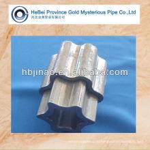 Высококачественная легированная сталь Тип трубы STAR PIPE