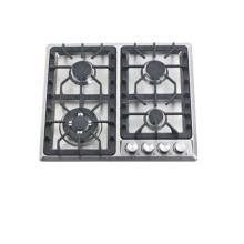 Fogão de gás do queimador da alta qualidade 4 do dispositivo de cozinha, fogão de gás
