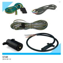 Conjunto de chicote de fios de cabo do fio do reboque do caminhão do automóvel do costume da fábrica de China
