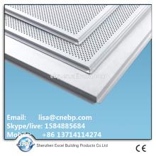 epoxy polyester powder coating Tegular aluminum ceiling sheet