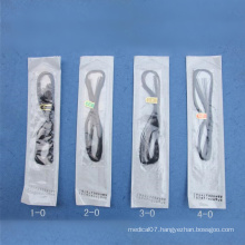 Medical Sterile Non Absorbable Polyester Suture for Single Use