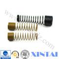 Resortes de compresión de acero de alta tensión galvanizados