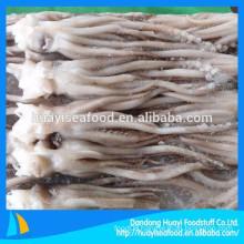 low price super quality frozen squid head squid tentacle