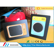 China factory supplier magnetic picture frame, magnetic photo frame on refrigerator
