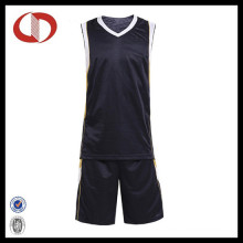 Black High Quality Professional Unisex Basketball Jersey