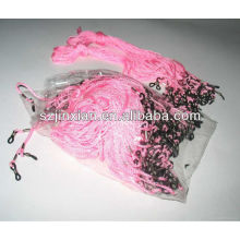 2014 rosa cor óculos cordões