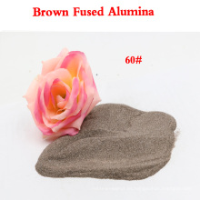 Marrón Fusionado Aluminio Abrasivo Fabricante para Pulido