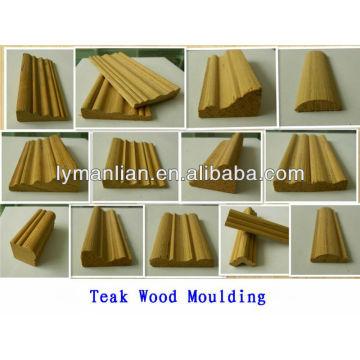 molduras de madera para puerta