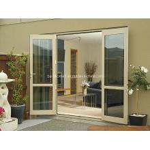 Ventanas y puertas de aluminio de doble vidrio transparente sin problemas