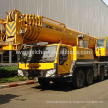 El camión de la grúa del camión QY130K en grúa de la camioneta pickup de Dubai utilizó la mini grúa de correa eslabonada