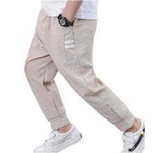 Весенние стильные облегающие спортивные брюки для мальчиков