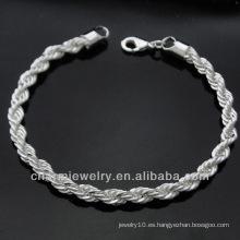 Pulsera BSS-011 del encanto de la plata esterlina del precio al por mayor de la fábrica