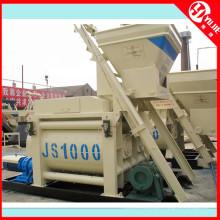 Mezclador de hormigón Js1000 de alta calidad para la planta de mezcla de hormigón