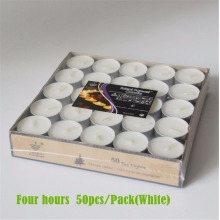 wholesale 9hrs burning-time paraffin wax tea light candle