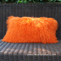 Custom Size Lamb Fur Pillowcase Cushion Cover