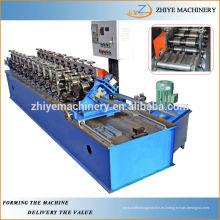 De acero galvanizado Omega máquina formadora de rollo Fabricante