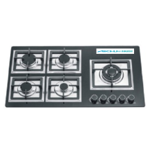 5 Burners SlimTempered Glass Gas Hob