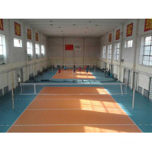 China Facroty Sale PVC Sports Flooring for Volleyball Court