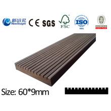 Qualität PE WPC Brett Plank mit SGS CE Fsc ISO dekorative Brett Holz Kunststoff Composite Lhma094