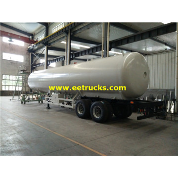45000 لتر LPG Road Trailer Tanks