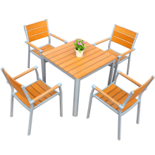 Durable waterproof WPC outdoor furniture