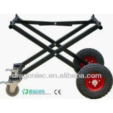 ДГ-TR003 epoxy Покрынная стальная Вагонетка Церков похороны тележка для продажи