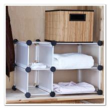 Organizador de almacenamiento de armario con color blanco (FH-AL2113)