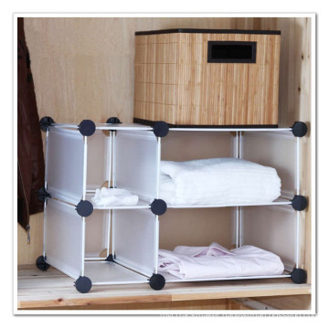 Wardrobe Storage Organizer with White Color (FH-AL2113)