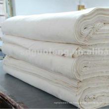 Materia textil casera 40 * 40 110 * 90 uso del hotel de la tela del lecho 120gsm