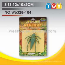 шаньтоу игрушки tpr мягкий резиновый кузнечик насекомое дешевые игрушки для продажи