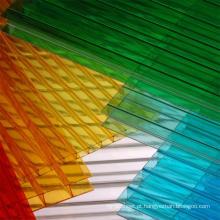 Folha de policarbonato Multiwall Fabricante A Grade de Melhor Qualidade