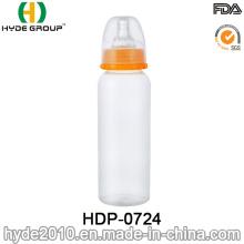 Botella de biberón de PP con biberón estándar sin BPA (HDP-0724)