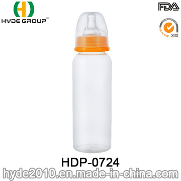 BPA Free Standard Neck Feeding PP Baby Bottle (HDP-0724)