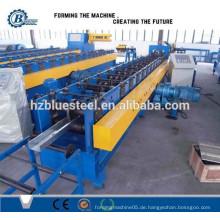 Tragbare automatische Metalldach CZ Purlin Roll Umformmaschine, Haus Dach Verwendung Maschine Kalt Roll Forming Machine