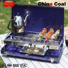 Горячая Продажа Складная Открытый 3 горелки сжиженный газ газовая плита