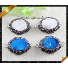 Encantos de cristal pulseras joyería de conector para la fabricación artesanal de bricolaje (ey0108)