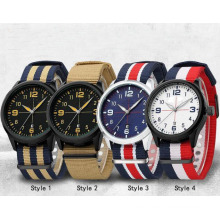 Yxl-860 Reloj Militar Hombres Moda Casual Relojes Hombres Reloj de pulsera Correa Nato Deporte Reloj Hombre Reloj Masculino Reloj