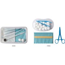 Одноразовые комплекты стоматологических инструментов для осмотра