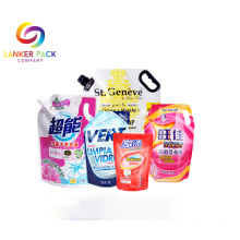 BRC+Custom+Plastic+Spout+Pouch+For+Liquid+Packaging