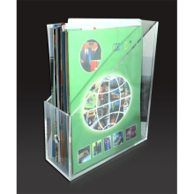 Acrylic File Organizer For A4 Brochure