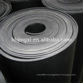 Feuille en caoutchouc d'insertion de tissu