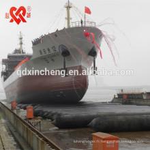 Airbag marin en caoutchouc à haute flottaison largement utilisé pour le lancement de la Chine