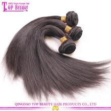 Высокое качество 100% Индийский волосы прямые необработанные 16 дюймов прямо Индийские Реми волосы